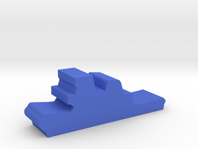 Game Piece, Tugboat in Blue Processed Versatile Plastic