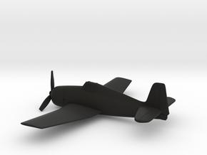 Grumman F6F (w/o landing gears) in Black Natural Versatile Plastic: 1:160 - N