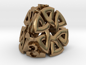 Celtic D4 Alternative in Natural Brass