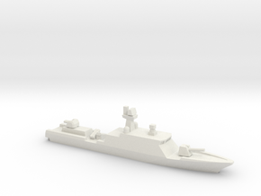 Gumdoksuri-class patrol vessel (late ver.), 1/1250 in White Natural Versatile Plastic