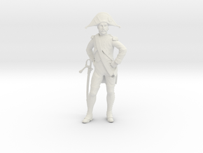 french grenadier 75mm in White Natural Versatile Plastic