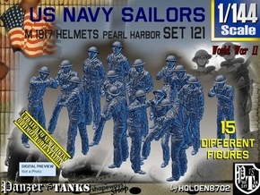 1/144 USN Pearl Harbor Set 121 in Smooth Fine Detail Plastic