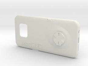 Samsung S7 Edge Garmin Mount Case in White Premium Strong & Flexible