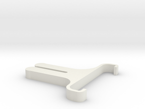 phone holder in White Natural Versatile Plastic