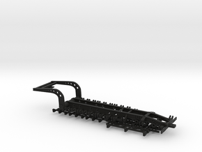 1/64 5th Wheel Combine Trailer in Black Natural Versatile Plastic