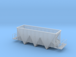 Aggregate Gondola Car - HOscale in Smooth Fine Detail Plastic