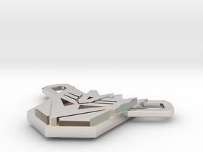 Nitro Zeus Chain, Con Symbol in Platinum: Small