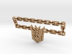 Nitro Zeus Chain, Con Symbol in Polished Brass (Interlocking Parts): Medium