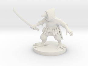 Ravenfolk Ninja in White Natural Versatile Plastic