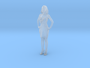 Printle C Femme 025 - 1/72 - wob in Smooth Fine Detail Plastic