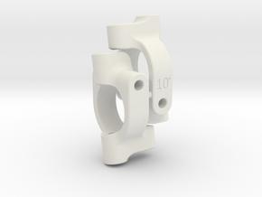 4XS C-Hub 10 deg PAIR in White Natural Versatile Plastic