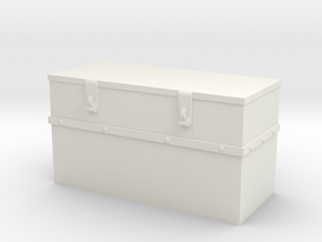 1/16 Fire Fly Turret Stowage Bin in White Natural Versatile Plastic