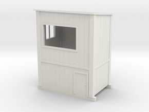 1/64 Chop Stand Shack in White Strong & Flexible