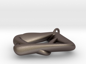 Heptas Style in Polished Bronzed Silver Steel