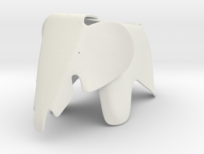 Eames Elephant chair 1/6 in White Natural Versatile Plastic