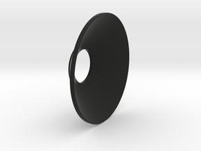 Cone_O_S2 in Black Premium Versatile Plastic