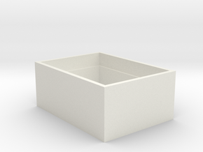 433-1136-ND Box in White Natural Versatile Plastic