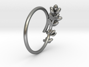 Lavender Ring in Natural Silver: 5 / 49