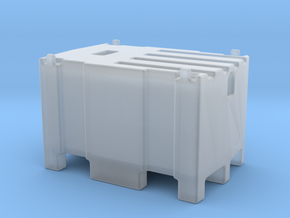 Mobile fuel tank 450l 1/32 in Smooth Fine Detail Plastic