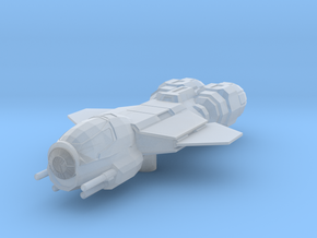 Corellian Dragon Interceptor Gunboat in Smooth Fine Detail Plastic