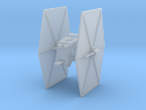 TIE ATST FIGHTER in Smooth Fine Detail Plastic