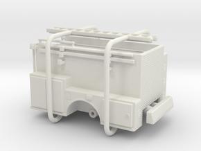 1/87 ALF Pipeline Body Compartment Doors in White Natural Versatile Plastic