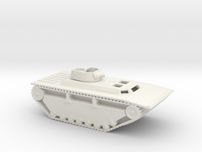 1/87 Scale LVT-4 AT in White Natural Versatile Plastic