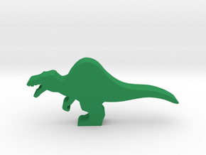 Dino Meeple, Spinosaurus in Green Processed Versatile Plastic