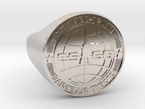 CS:GO Ring in Platinum: 5 / 49