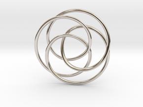 Rose Möbius in Platinum