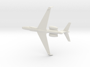 1/200 Gulfstream G550 CAEW in White Natural Versatile Plastic