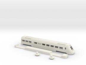 599 Renfe coche extremo SW in White Strong & Flexible