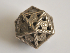 D20 Balanced - Rope in Stainless Steel