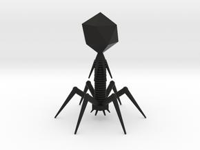 Enlarged Virus in Black Premium Strong & Flexible