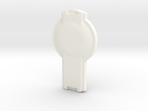 SHIELDR in White Processed Versatile Plastic