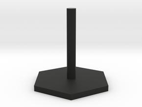 Flight Stand in Black Natural Versatile Plastic