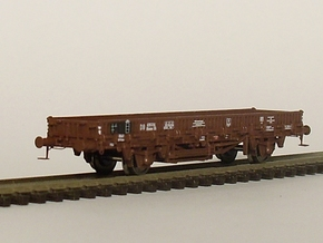 2152 1/148 German train-ferry wagon, 40t-glw low in Smooth Fine Detail Plastic