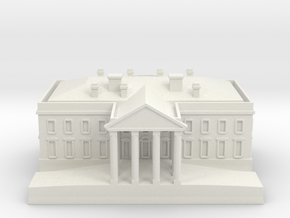 1/700 The White House for Diorama in White Natural Versatile Plastic