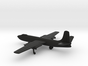 Martin XB-48 in Black Natural Versatile Plastic: 1:400