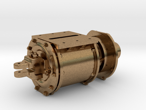 tender air brake cylinder in Natural Brass