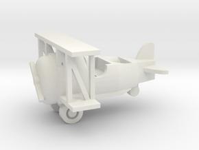 Besatzungsteil Flugzeug 1:87 in White Natural Versatile Plastic