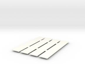 1/24 Scale Single Lockers in White Processed Versatile Plastic
