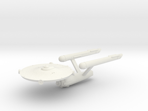 3788 Scale Fed Classic Galactic Survey Cruiser WEM in White Natural Versatile Plastic