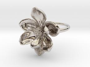 Magnolia Ring in Platinum: 5 / 49