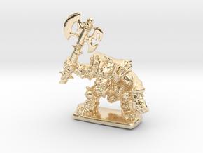 HeroQuest FrozenHorror 28mm heroic scale miniature in 14k Gold Plated Brass