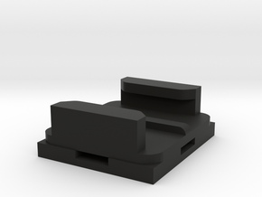 Zip Tie Gopro mount in Black Natural Versatile Plastic