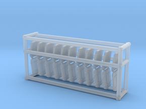 1/96 Port Rectangle V7a Vent Grate Set in Smooth Fine Detail Plastic