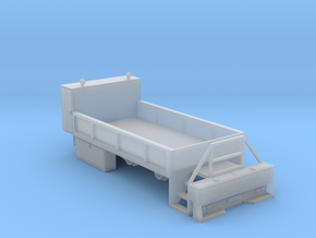 Rail Wheel Service Truck - Hyrail With Bumper 1-87 in Smooth Fine Detail Plastic