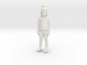 Printle C Kid 192 - 1/32 - wob in White Natural Versatile Plastic