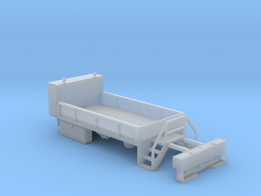 Rail Wheel Service Truck - No Crane - Hyrail With  in Smooth Fine Detail Plastic